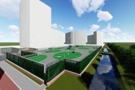 Continental Car Parks bouwt garage Rotterdam Alexander