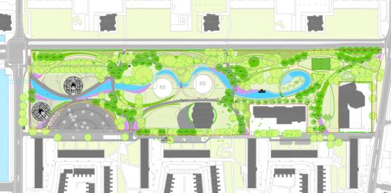 Voorlopig ontwerp Azië-park, Haarlem