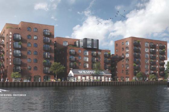 CBRE GI koopt Vorm-woningen in Amsterdam Oost