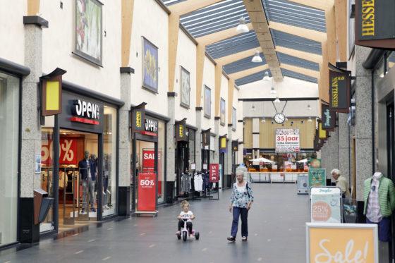 'Leegstand winkels neemt weer iets af'