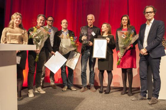 Winnaars Geurt Brinkgreve Bokaal 2017, foto Tom Feenstra