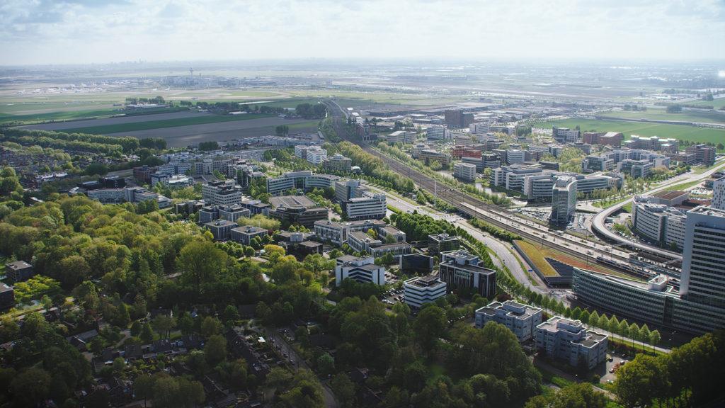 De projectlocatie van Hyde Park in Hoofddorp