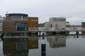 Meer drijvende woningen op Steigereiland