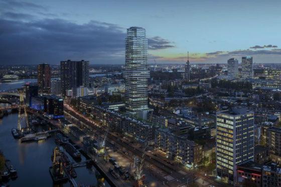 Ballast Nedam bouwt Cooltoren in hartje Rotterdam