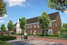 Bouw 63 woningen in Deurne van start