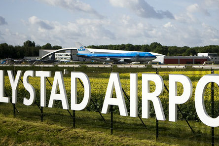 Uitbreiding vliegveld Lelystad uitgesteld