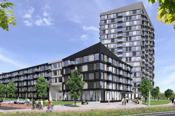 Belastingkantoor Utrecht maakt plaats voor 487 huurwoningen