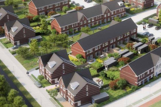 Verenigd Beheer koopt nieuwbouwwoningen Arnhem