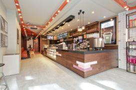 Dunkin' Donuts naar Pieter Vreedeplein in Tilburg