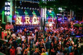 Rotterdamse Vastgoedborrel in café NRC