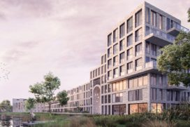 Nieuwbouwproject in spoorzone Delft
