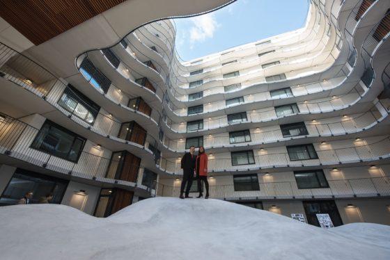 Kunstproject opent woongebouw Poort van Toorop Amsterdam