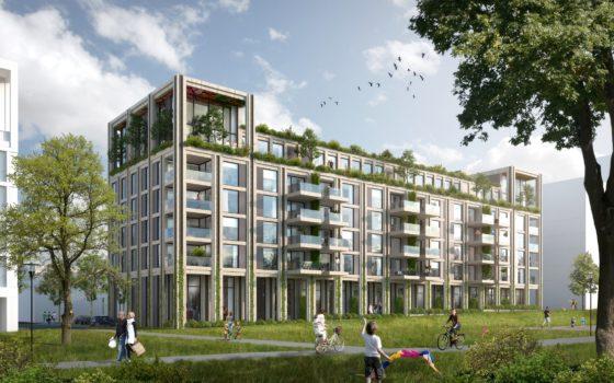 Woongebouw Park Avenue, Leidsche Rijn Centrum