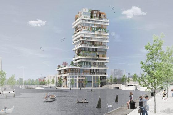 Den Haag krijgt eerste particuliere hoogbouw