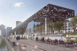 Leuvehaven krijgt nieuw havenpaviljoen