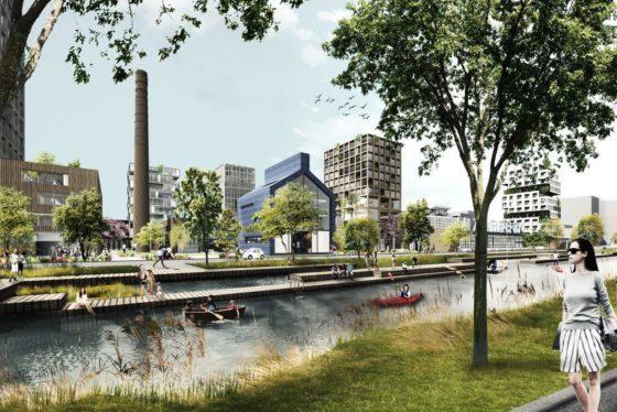 Robot Love in de Campina Melkfabriek Eindhoven