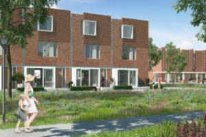 Prijsgroei nieuwbouwwoningen houdt hele jaar aan