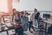 Nederland met stijging kantoorkosten uit de pas