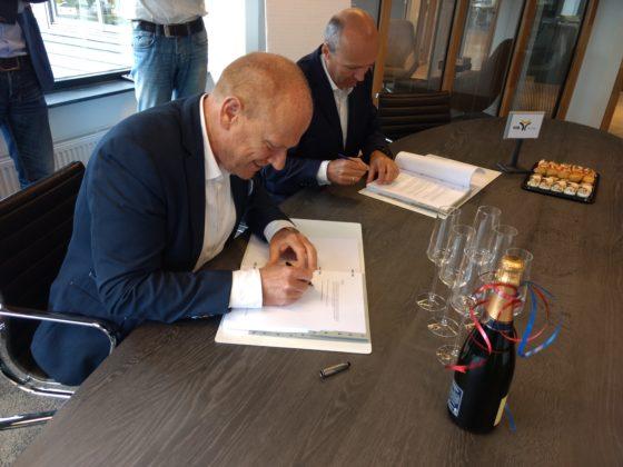 Hoorne Vastgoed en HBB tekenen voor Slottuin Heemstede