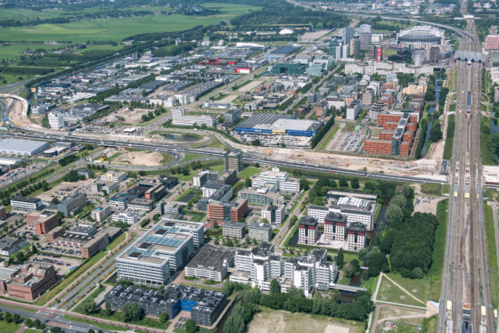 Luchtfoto Paalbergweg 1-3, Amsterdam
