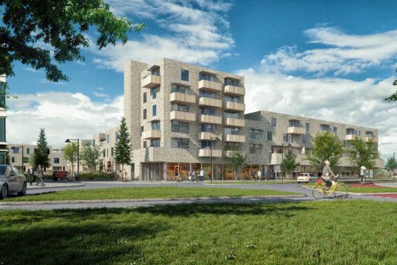 Particulier koopt deel woningen Lunettenhof Groningen