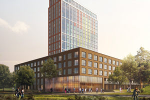 Borghese bouwt 698 studentenwoningen in Groningen