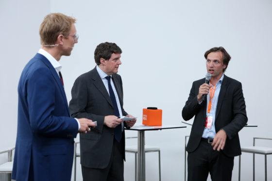 Hans Loos, Johannes van Bentum, Erik Vrieling
