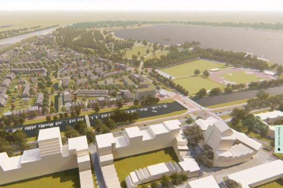 Rotterdam wil 800 woningen in Nieuw Kralingen