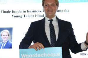 Tim de Vries wint Young Talent Award 2018