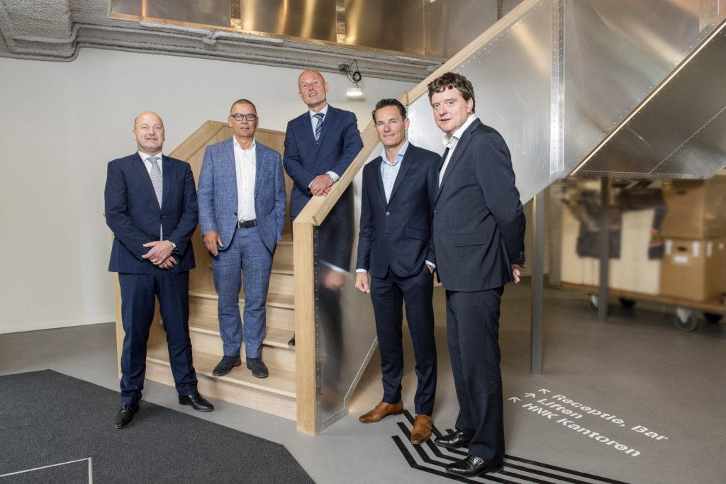 Wouter de Bever, Eddy Smit, Allard van Spaandonk, Robert Steenbrugge, Johannes van Bentum