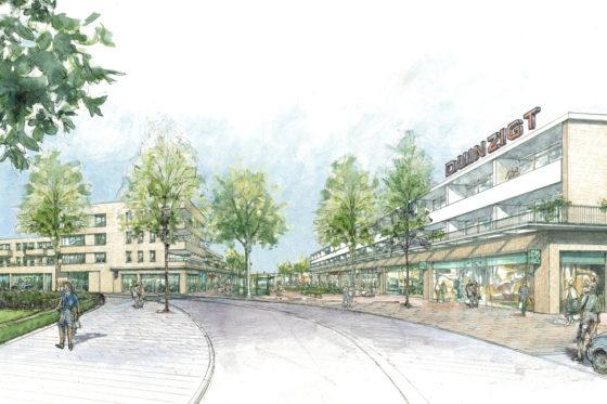 Herontwikkeling winkelcentrum Duinzigt stap verder