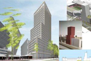 Plan voor woontoren naast Philips-stadion Eindhoven