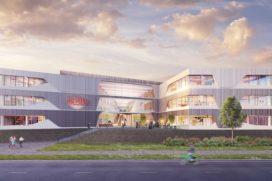 Nieuwbouw DuPont op Leiden Bio Science Park