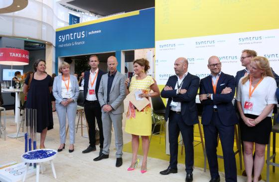 Claudia Zuiderwijk met de genomineerden voor de StiB Award 2018