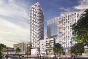 Hoogste punt Amvest-woontoren Utrecht bereikt