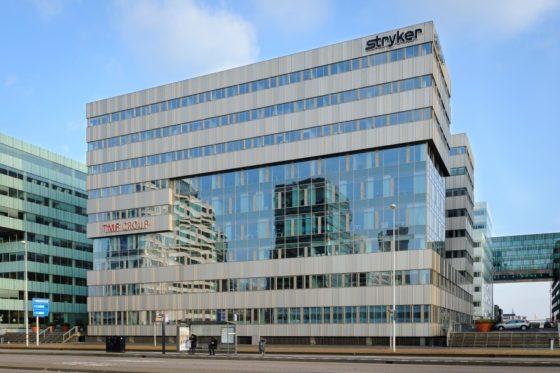 Stryker verlengt huur in Amsterdam Zuidoost