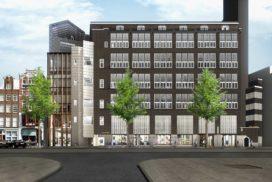 BAM herontwikkelt voormalig Telegraafgebouw voor Kroonenberg