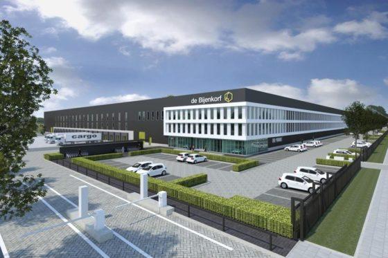 Nieuw distributiecentrum Bijenkorf in Tilburg
