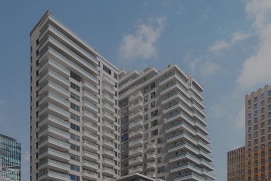 Syntrus Achmea neemt 35 appartementen Zuidas over
