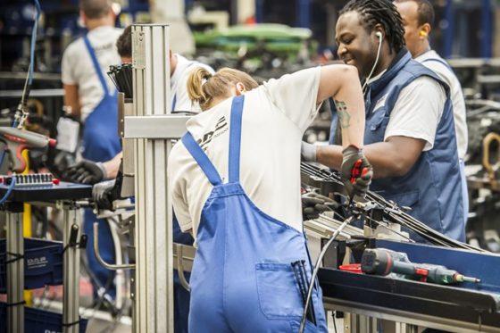 Productie industrie ruim 3 procent hoger in juni