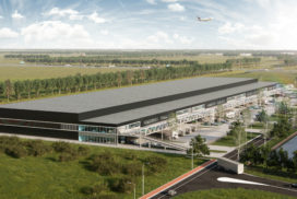 Bouwstart AMS Cargo Center II in 2019