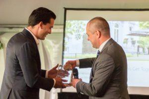 Douglas van Oers 'Prologis Broker of the year'