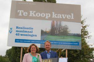 Overeenkomst 45 woningen in Velsen