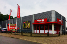 Jumper huurt winkel in Amersfoort
