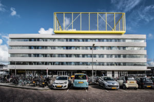 Amstelhome, modulaire studentenwoningen van Jan Snel in Amsterdam
