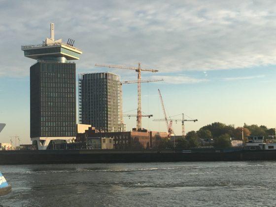 Bouwpunt Y-tower Amsterdam