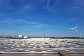 CBRE GI legt 14.000 zonnepanelen op dak in Nieuwegein