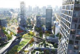 Plan voor herontwikkeling stationsgebied Hofplein