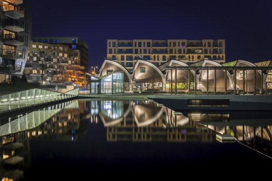Paleiskwartier Den Bosch bij nacht