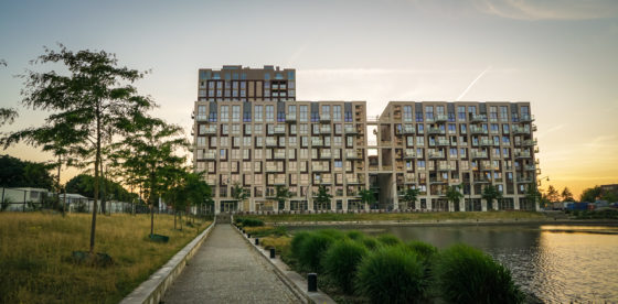 Woongebouw, Paleiskwartier, Den Bosch
